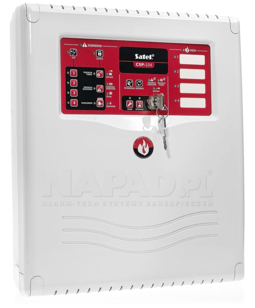 centrala sygnalizacji pożaru